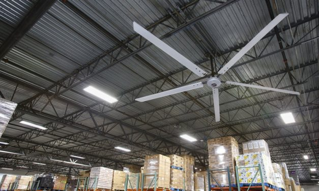 How an HVLS Fan Will Enhance Your Manufacturing Facility