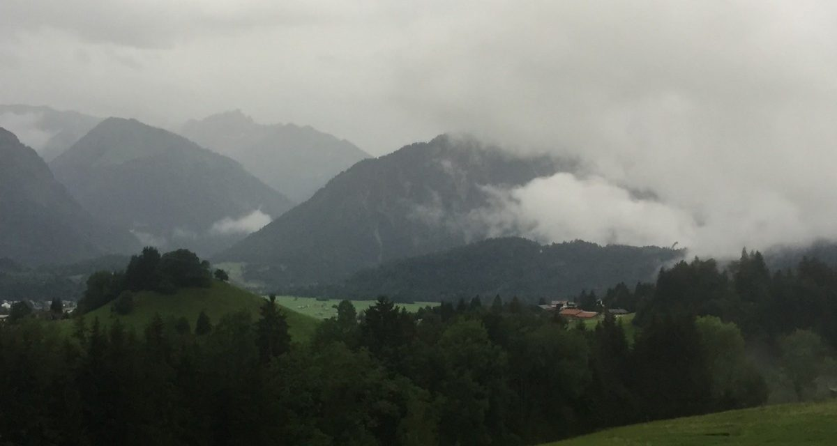 The Clouds Are Breaking up over EMS in Europe to Reveal Dramatic Changes