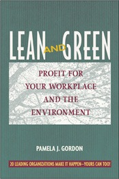 Book cover Lean and Green