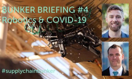 Bunker Briefing #4 – Robotics & COVID-19